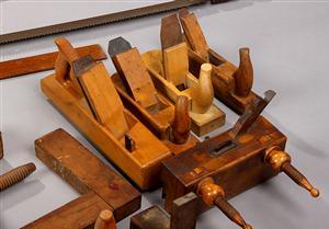 En del af snedkerens værktøj